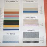 roletta anyag és szín választék kép