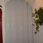 Fehér műanyag harmónika ajtó