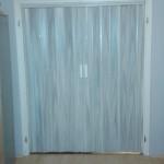 Duplaszárnyas műanyag harmónika ajtó